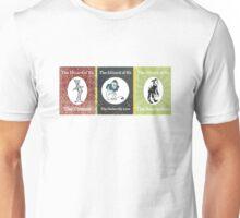 Wizard of Oz Tinman Cowardly Lion Scarecrow Unisex T-Shirt