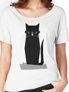 BLUE (If I Fits, I Sits) Women's Relaxed Fit T-Shirt