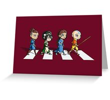 Avatar Road Greeting Card