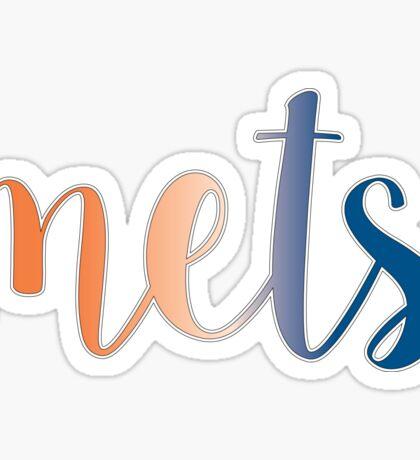 Mets Sticker