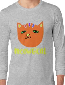 MEOWgical kitty cat Long Sleeve T-Shirt