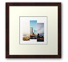 A day in Boston Framed Print