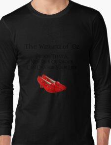 Wizard of Oz New Pair of Shoes Long Sleeve T-Shirt