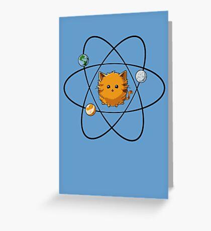 Catom Greeting Card