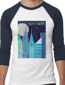 I Love New York Men's Baseball ¾ T-Shirt