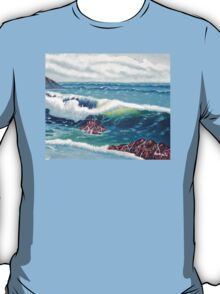 Oregon Seascape 84 oil painting  T-Shirt