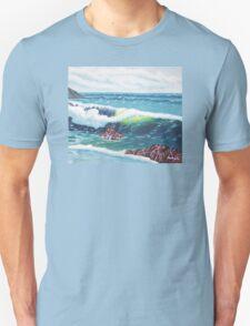Oregon Seascape 84 oil painting  T-Shirt