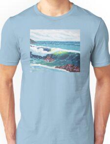 Oregon Seascape 84 oil painting  Unisex T-Shirt
