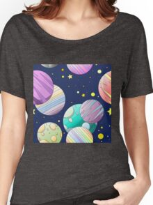 Galaxy Women's Relaxed Fit T-Shirt