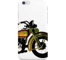 old harley 2 iPhone Case/Skin