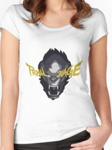 Primal Rage Women's Fitted Scoop T-Shirt