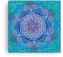 Flower of Life Series Canvas Print
