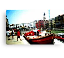 venetian sky Canvas Print