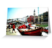 venetian sky Greeting Card
