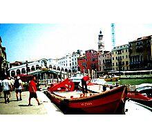 venetian sky Photographic Print