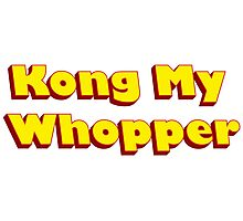 Kong My Whopper Photographic Print
