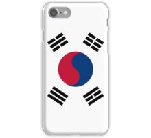 South Korea Flag iPhone Case/Skin
