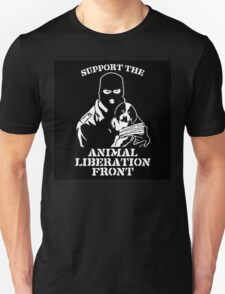 """Support the Animal Liberation Front"" Unisex T-Shirt"