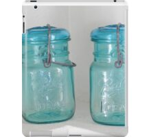 Mason Jar One iPad Case/Skin