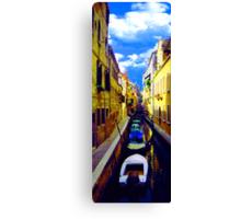 venetian waterline Canvas Print