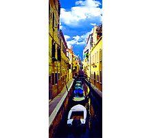 venetian waterline Photographic Print