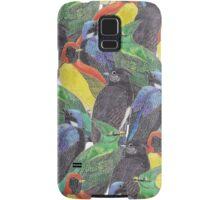 Birds Birds Birds Samsung Galaxy Case/Skin