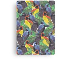 Birds Birds Birds Canvas Print