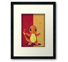 Pokemon - Charmander #004 Framed Print