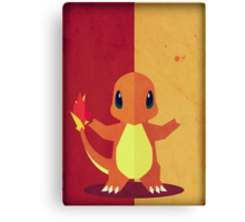 Pokemon - Charmander #004 Canvas Print