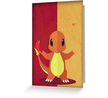 Pokemon - Charmander #004 Greeting Card