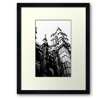 flying buttress Framed Print