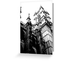 flying buttress Greeting Card