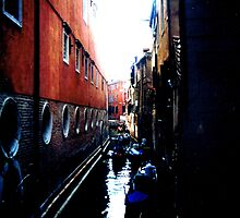 wet alley by tinncity