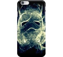 Smoke Stormtrooper helmet - Colour iPhone Case/Skin