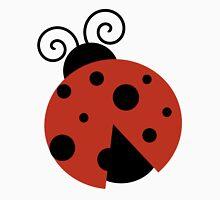Ladybug (Ladybird, Lady Beetle) with Dots - Red Unisex T-Shirt