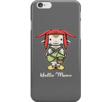 'ello Meow iPhone Case/Skin