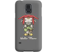 'ello Meow Samsung Galaxy Case/Skin