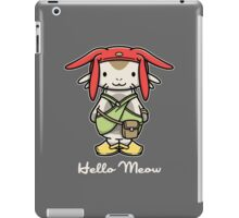 Hello Meow iPad Case/Skin