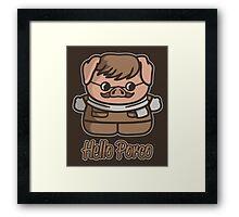 Hello Porco Framed Print