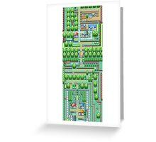 Pokemon Town Greeting Card