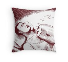 Ando-san Peng Peng Throw Pillow