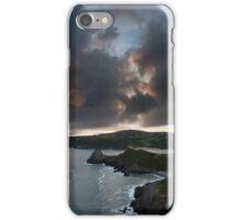 Three Cliffs Bay sunset iPhone Case/Skin