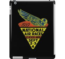 National Air Races Cleveland 1939 iPad Case/Skin