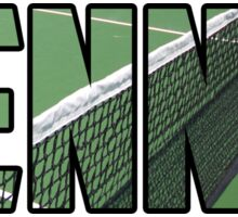 Tennis Court Sticker