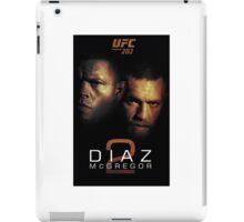 Ufc 202 Nate Diaz Conor McGregor Who ya Got iPad Case/Skin