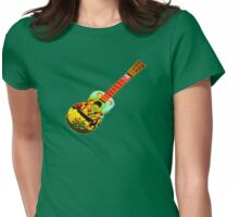 angled guitar Womens Fitted T-Shirt