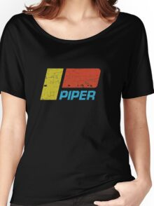 Piper Vintage Aircraft Women's Relaxed Fit T-Shirt