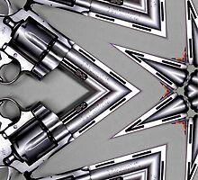 silver revolver by tinncity