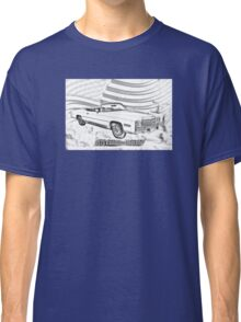 1975 Cadillac Eldorado Convertible Illustration Classic T-Shirt