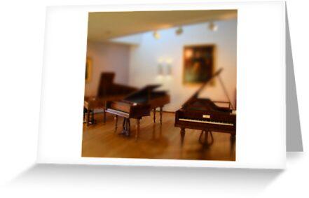 tiny pianos by tinncity